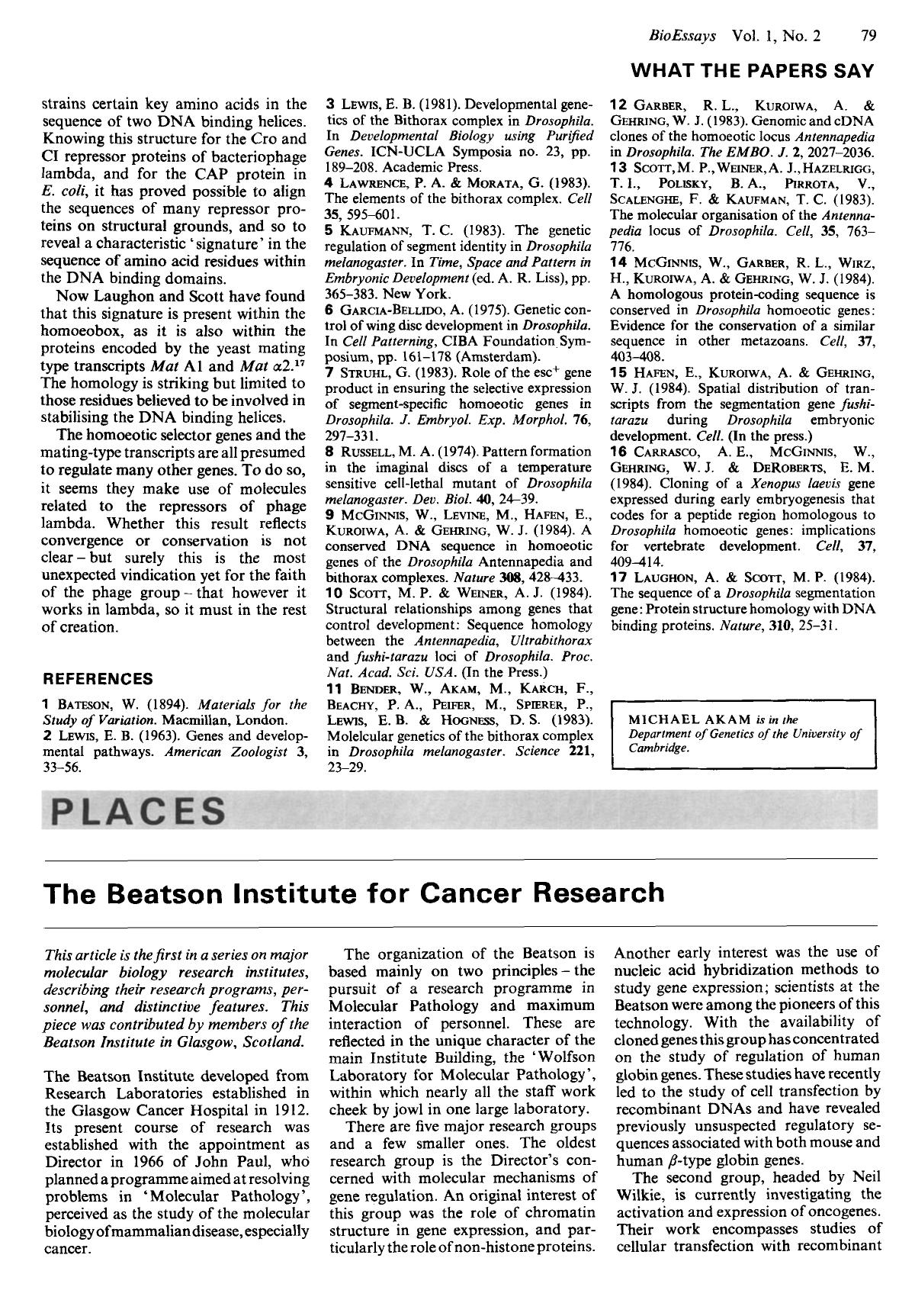 Обложка книги Places: The beatson institute for cancer research