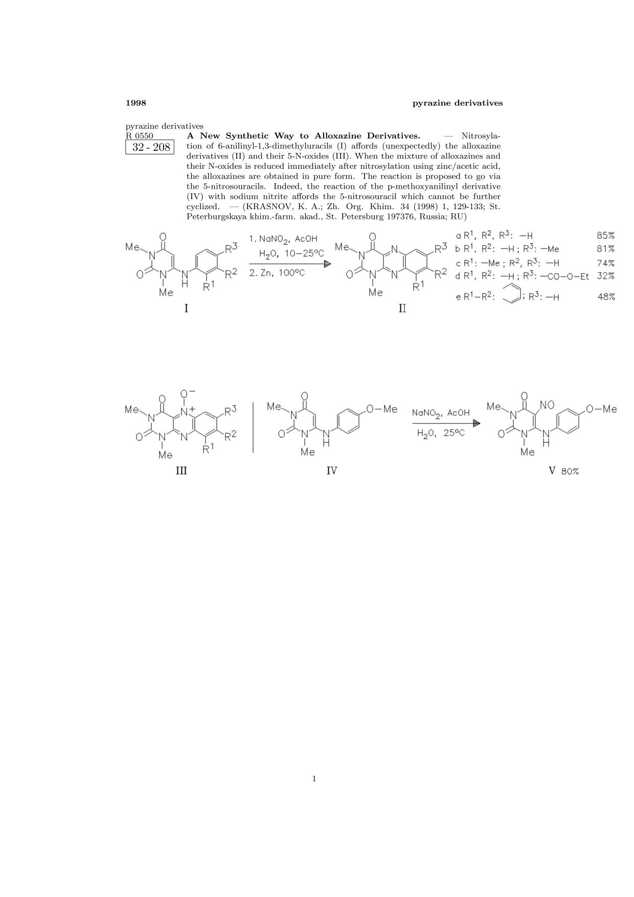 Обложка книги ChemInform Abstract: A New Synthetic Way to Alloxazine Derivatives.<span></span>