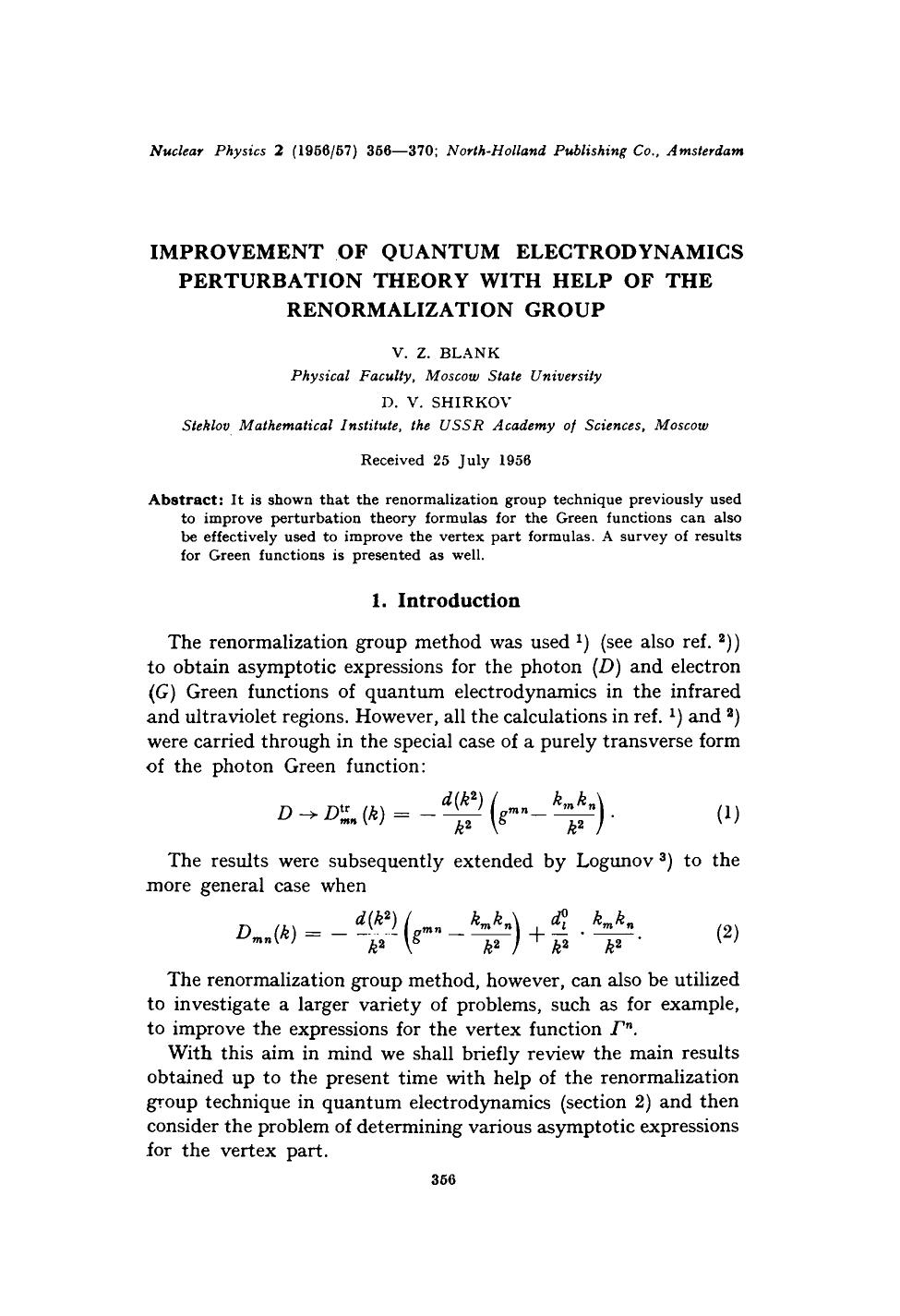 Kover buku Improvement of quantum electrodynamics perturbation theory with help of the renormalization group