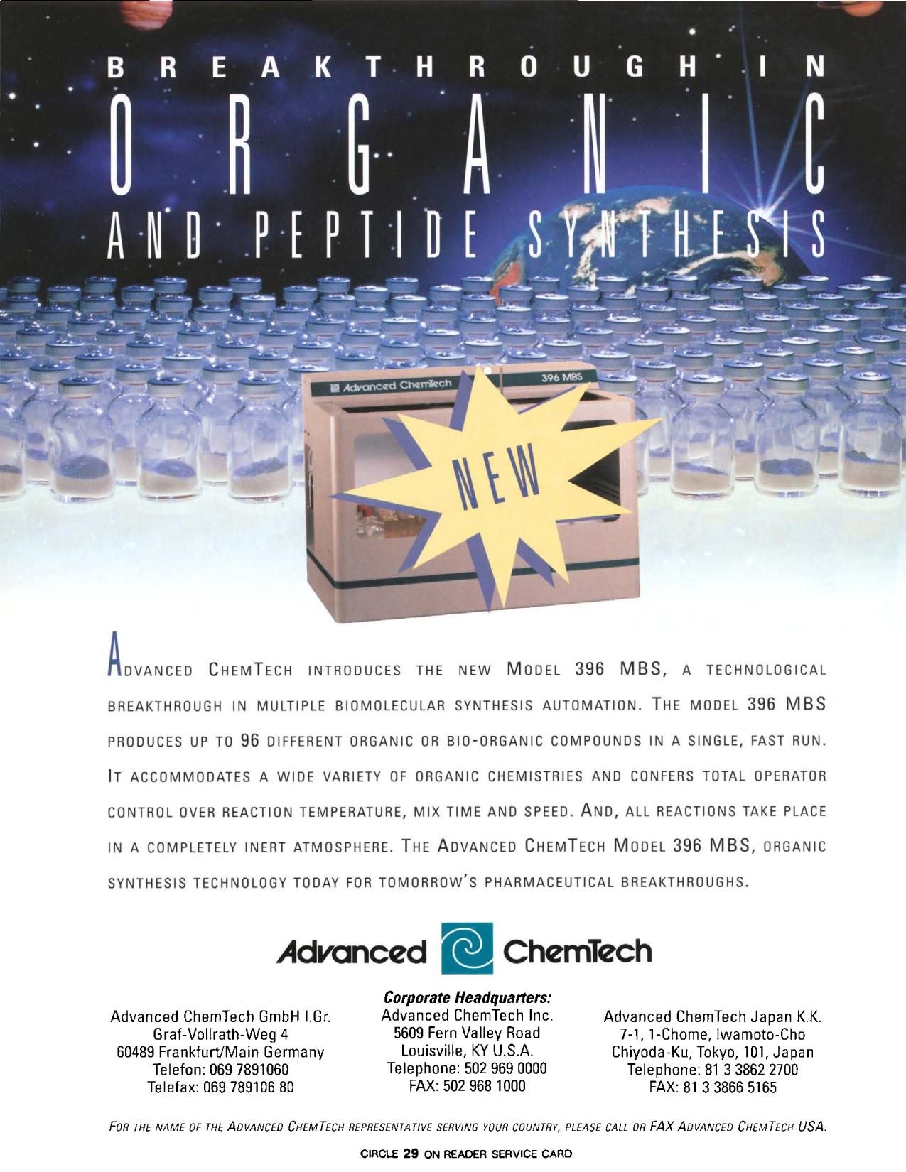 Book cover BREAK THROUGH IN ORGANIC AND PEPTIDE SYNTHESIS