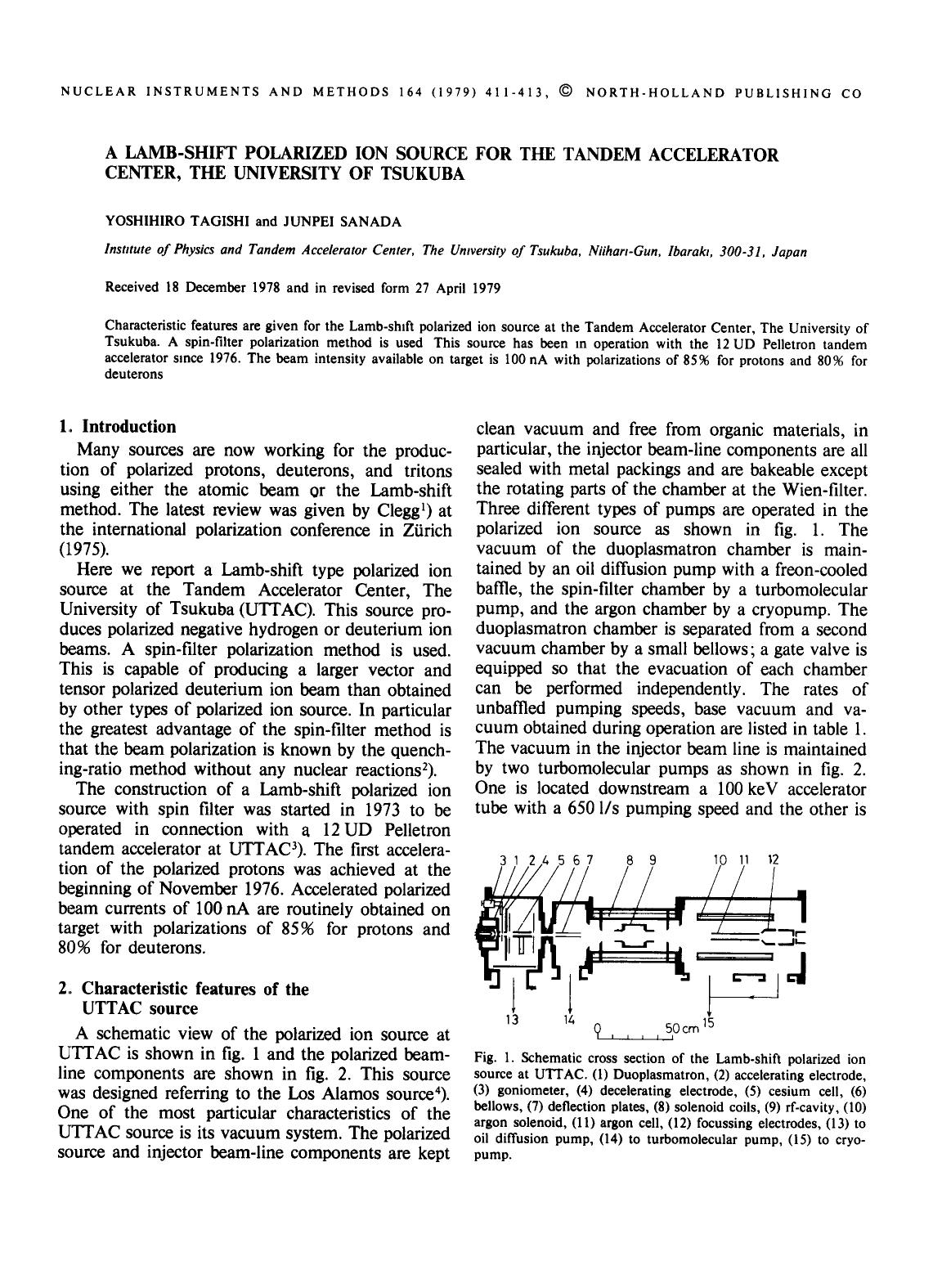 Book cover A Lamb-shift polarized ion source for the Tandem Accelerator Center, The University of Tsukuba