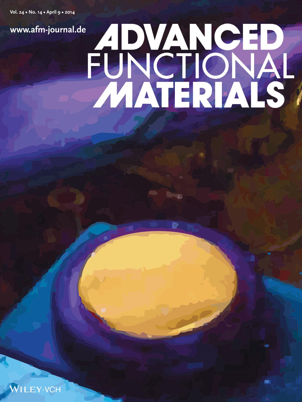 Book cover Nanoparticles: Highly Luminescent ZnO Quantum Dots Made in a Nonthermal Plasma (Adv. Funct. Mater. 14/2014)