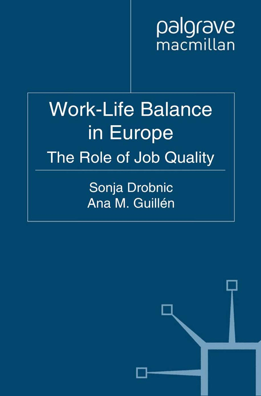 Book cover Work-Life Balance in Europe ||