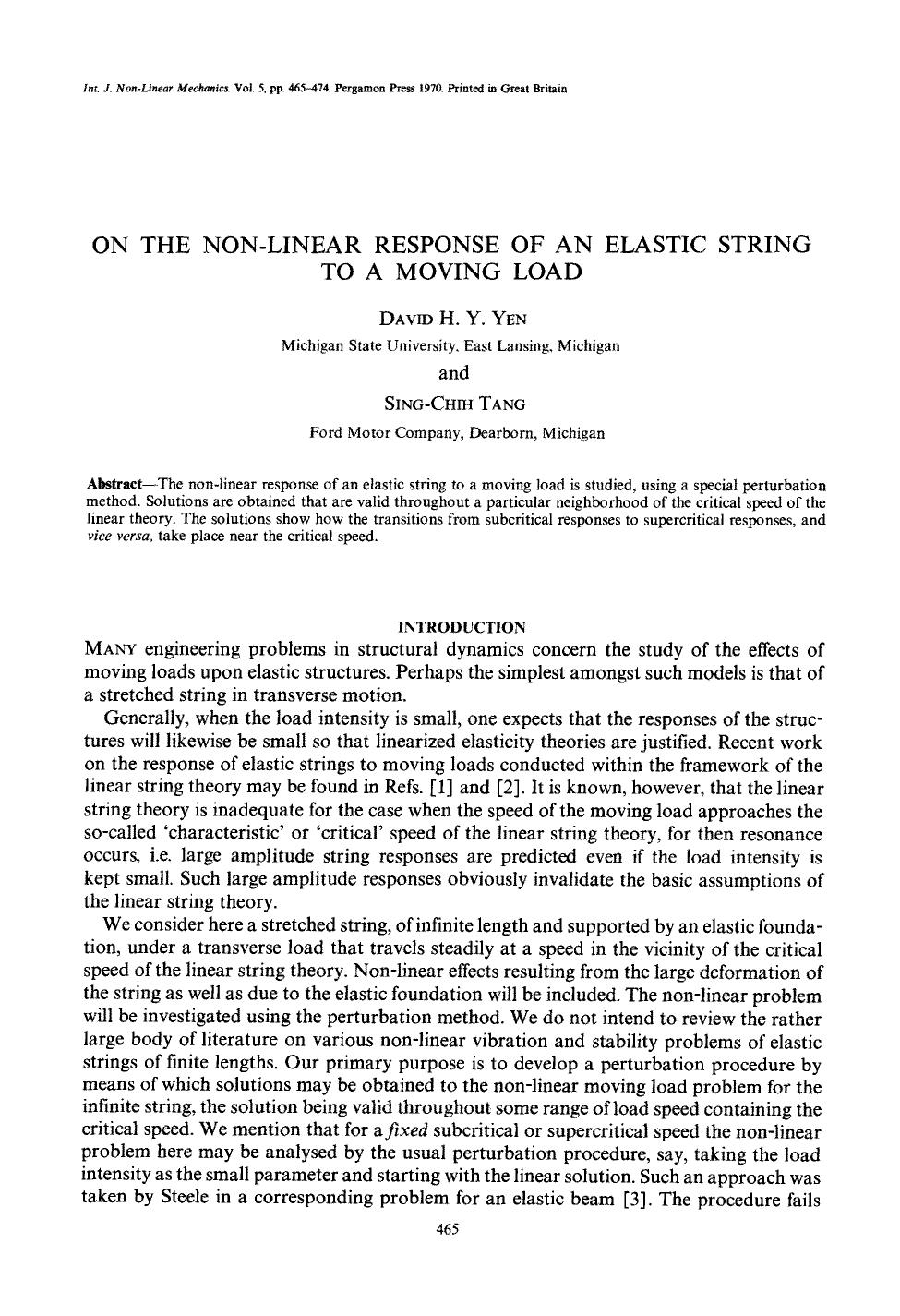 Book cover On the non-linear response of an elastic string to a moving load