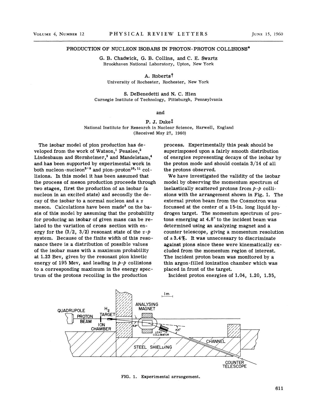 Book cover Production of Nucleon Isobars in Proton-Proton Collisions