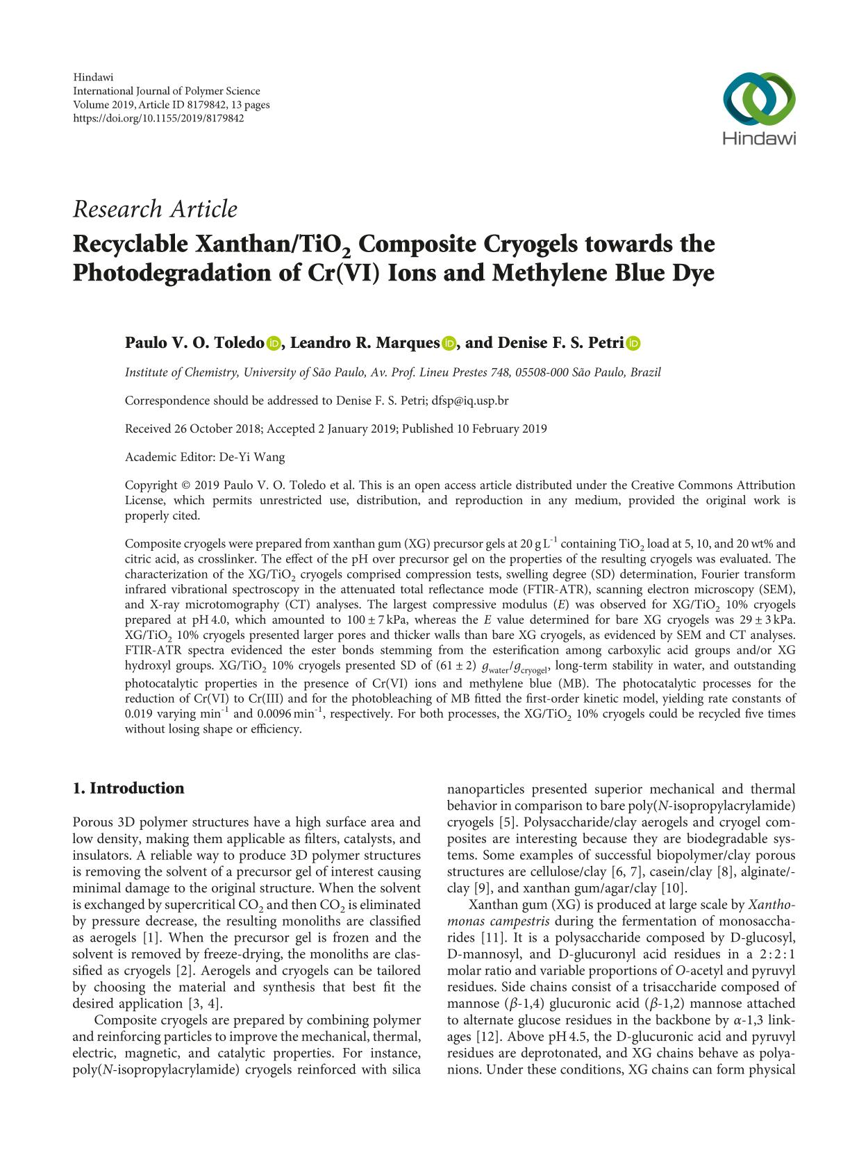 Book cover Recyclable Xanthan/TiO