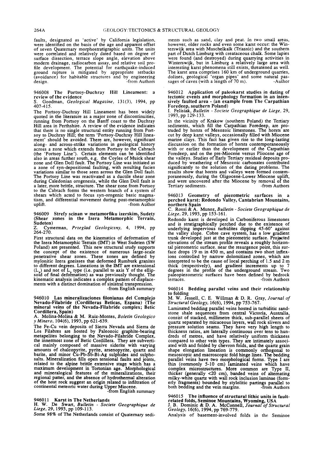 Обкладинка книги Application of paleokarst studies in dating of tectonic events and morphology formation in an intensively faulted area - (an example from The Carpathian Foredeep, southern Poland) : Bulletin — Societe Geographique de Liege, 29, 1993, pp129–133