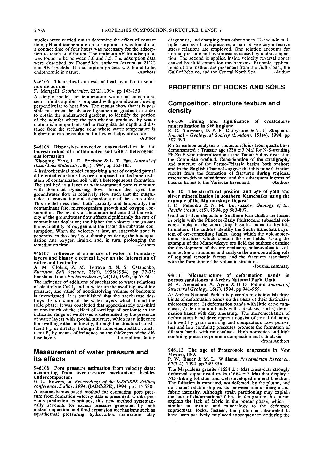 Book cover Timing and significance of crosscourse mineralization in SW England : Journal - Geological Society (London), 151(4), 1994, pp 587–590