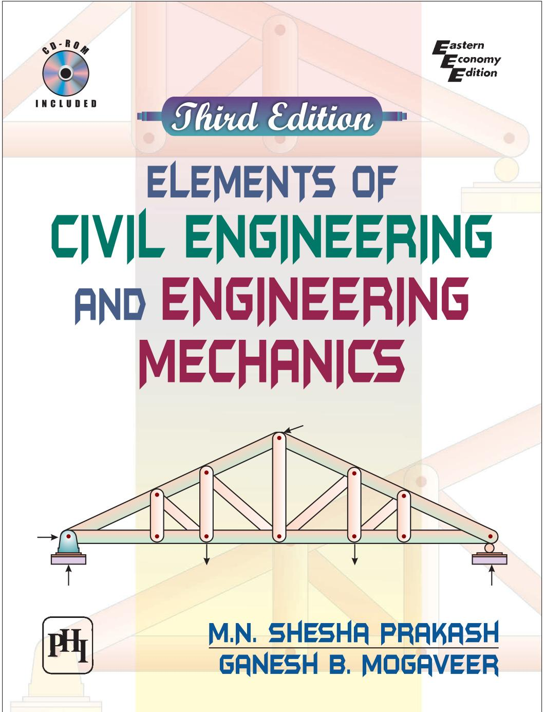 Book cover Elements of Civil Engineering and Engineering Mechanics