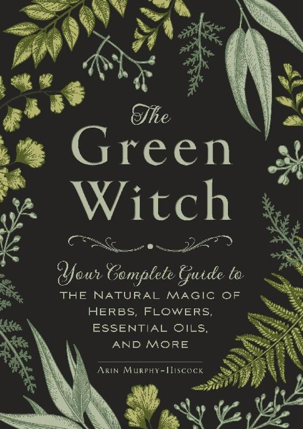 Book cover The Green Witch