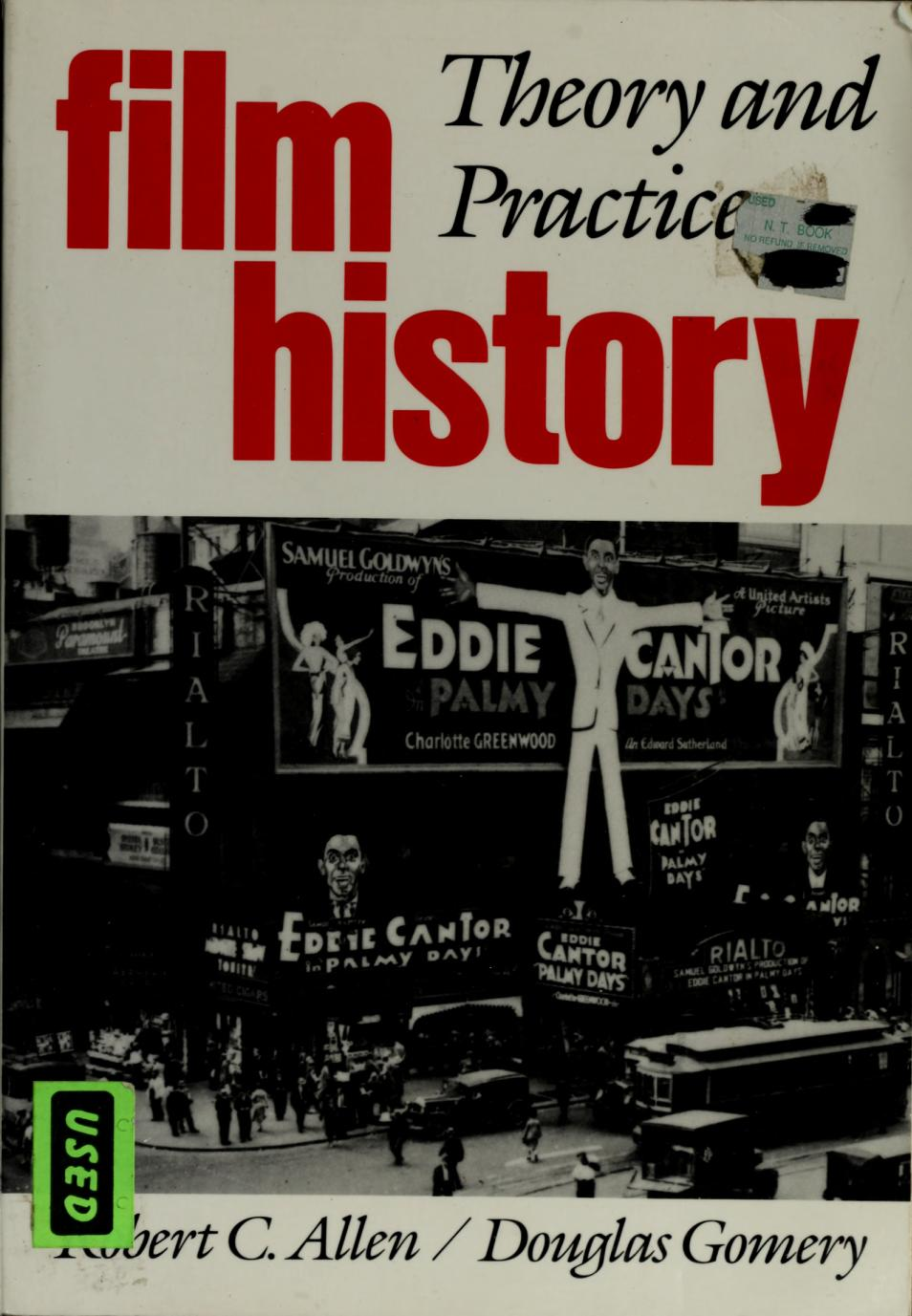 Book cover Film History: Theory and Practice