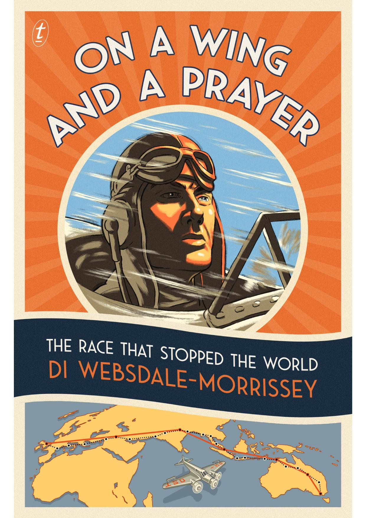 Copertina del libro On a Wing and a Prayer: The Race that Stopped the World
