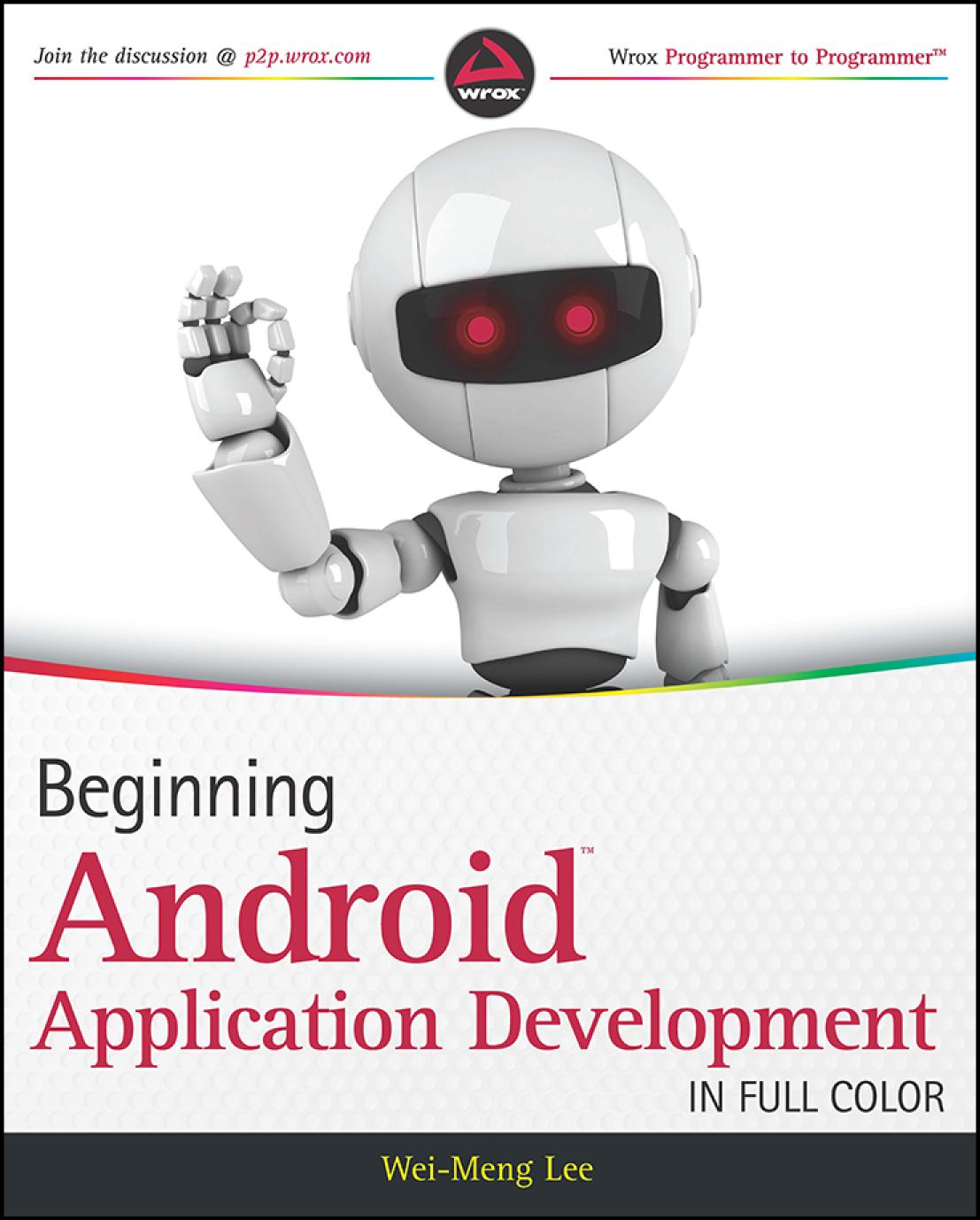 Book cover android app development