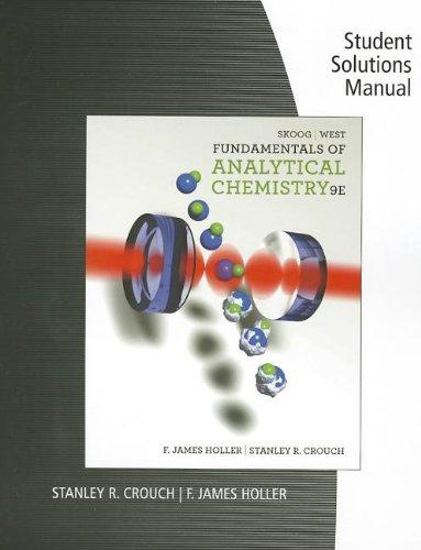 Book cover Fundamentals of Analytical Chemistry 9th  Student Solutions Manual