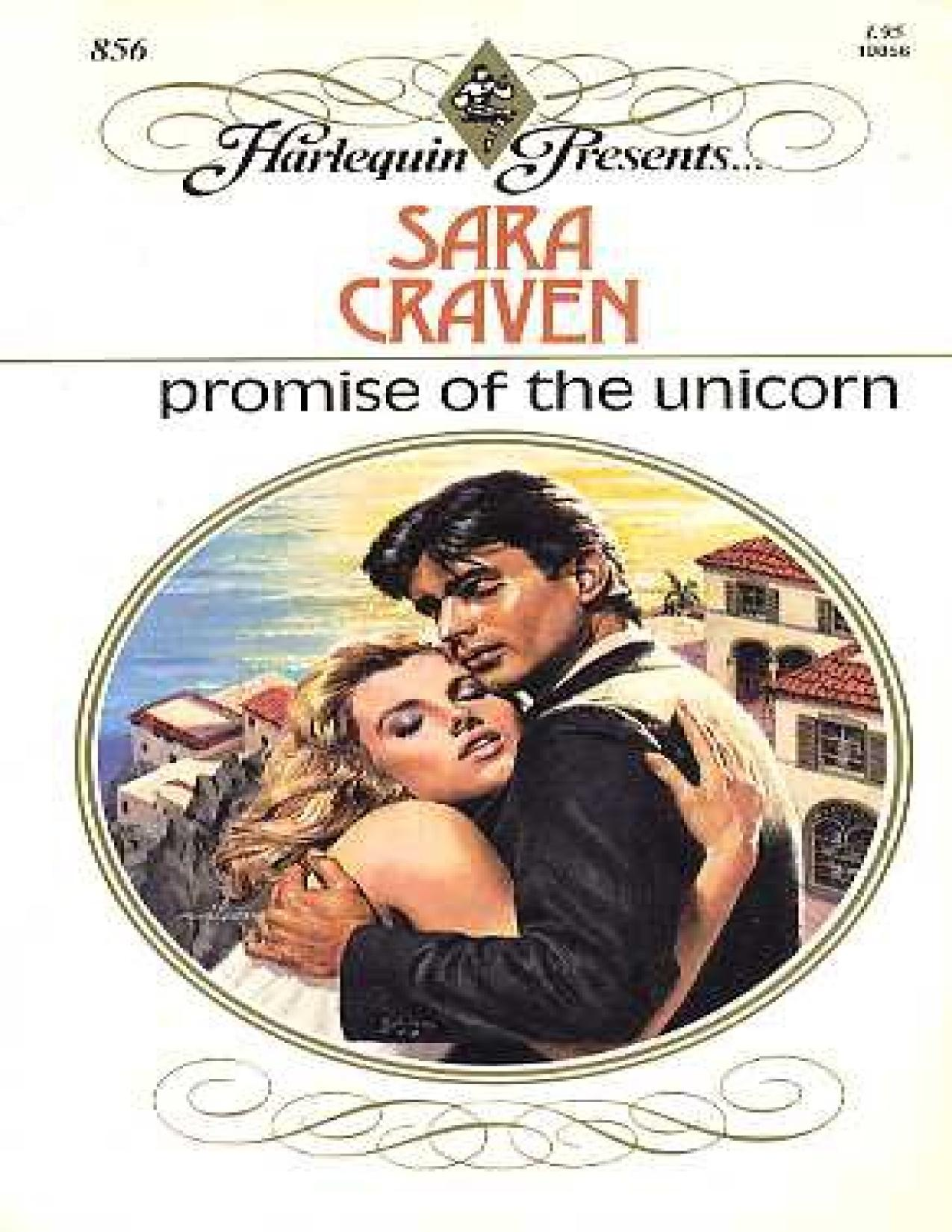 Book cover Promise of the Unicorn