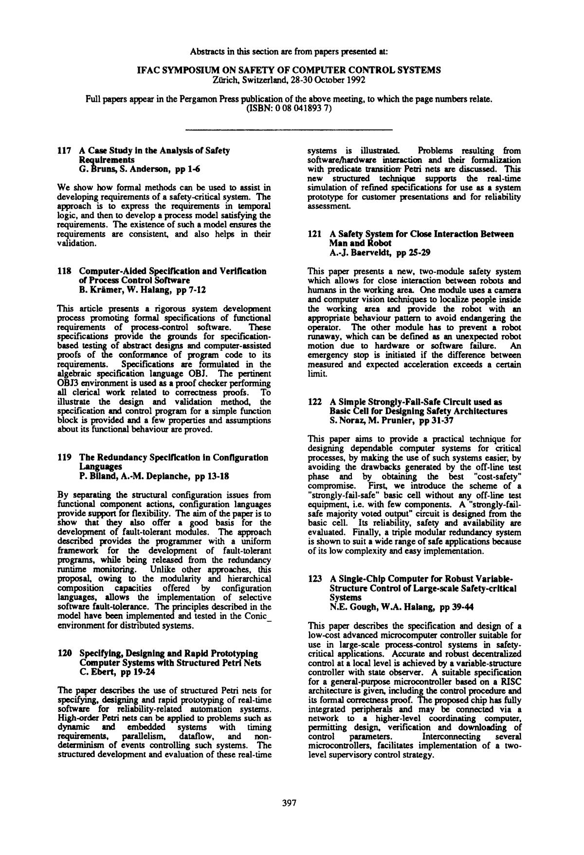 Обложка книги 121 A safety for clos interaction between man and robot: A.-J. Baerveldt, pp 25–29