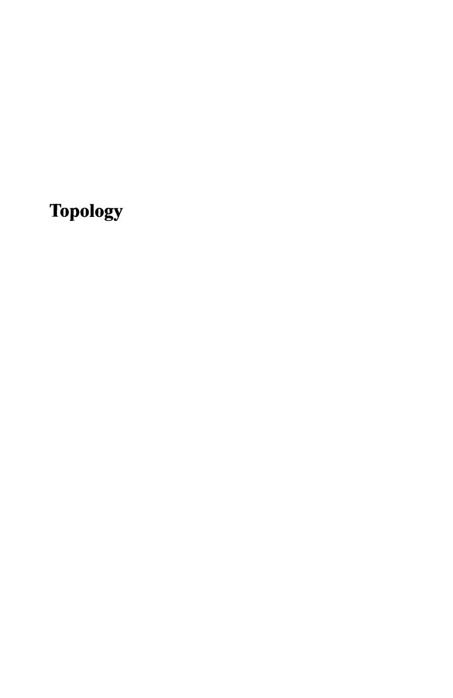 Couverture Topology (Point-Set and Geometric) ||
