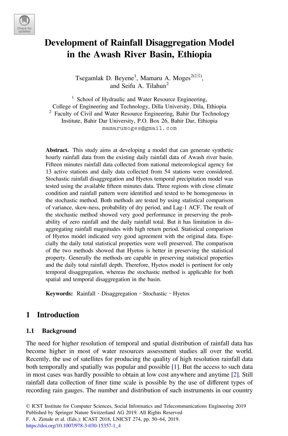 Lecture Notes of the Institute for Computer Sciences, Social ...