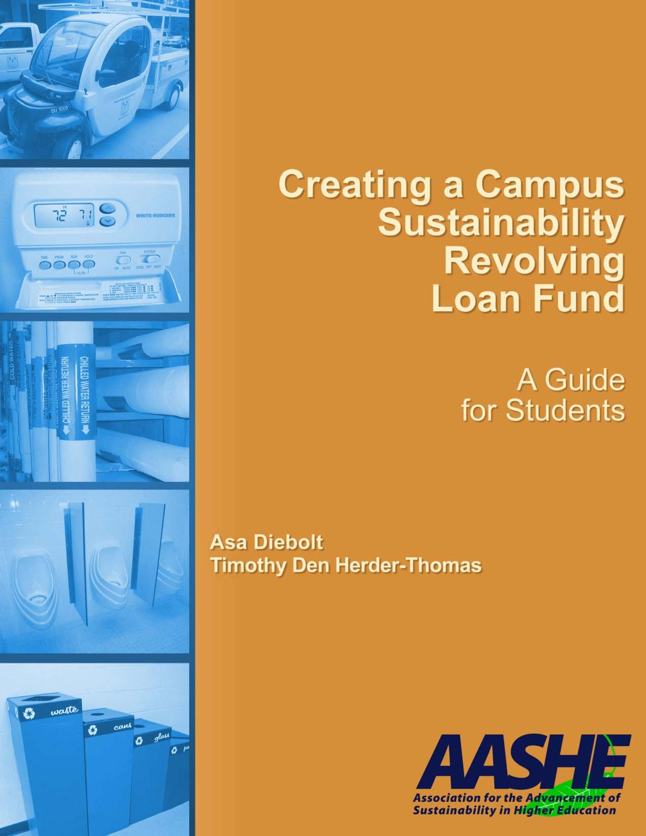 Couverture du livre Creating a Campus Sustainability Revolving Loan Fund