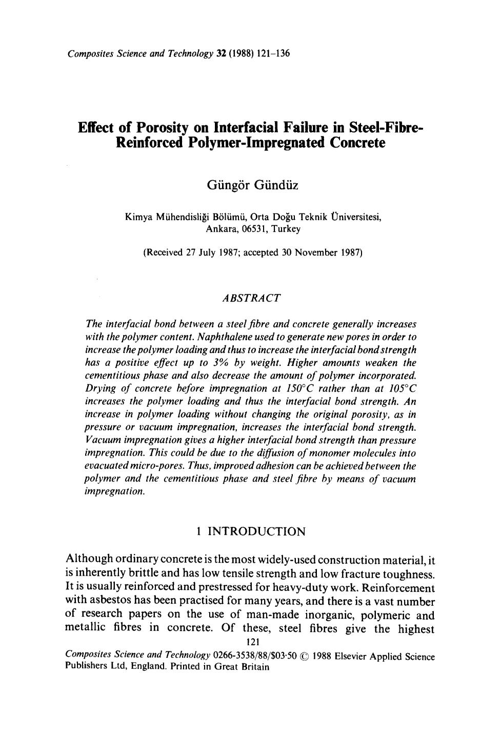 Portada del libro Effect of porosity on interfacial failure in steel-fibre-reinforced polymer-impregnated concrete