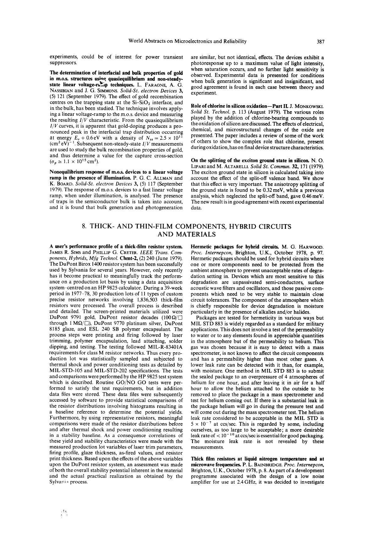 Обложка книги On the splitting of the exciton ground state in silicon : N. O. Lipari and M. Altarelli. Solid St. Commun.32, 171 (1979)