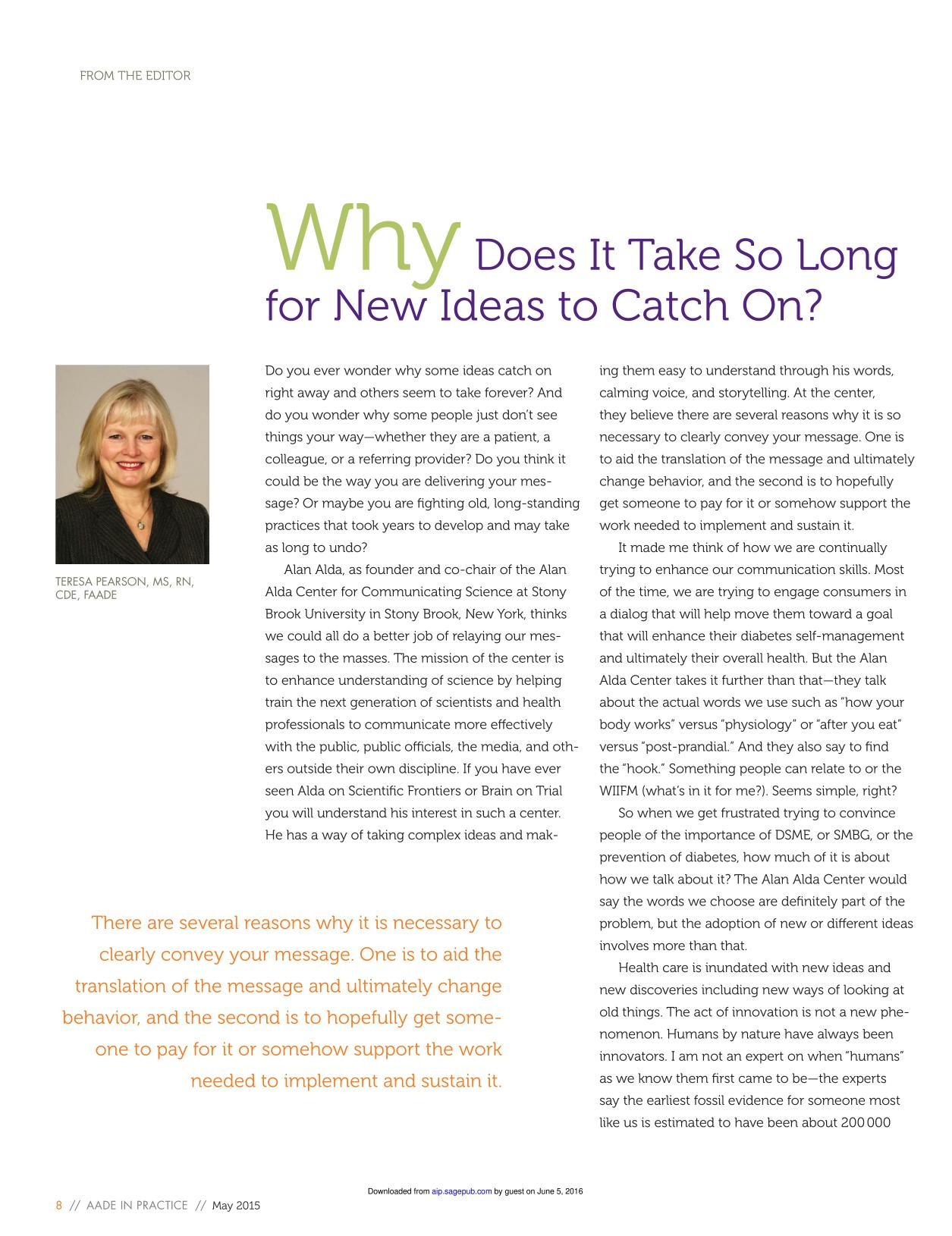 Portada del libro Why Does It Take So Long for New Ideas to Catch On?