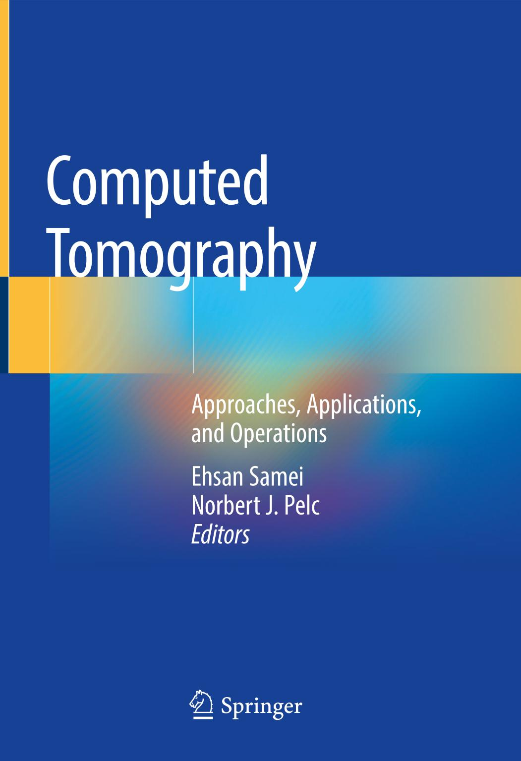 Обкладинка книги Computed Tomography. Approaches, Applications, and Operations