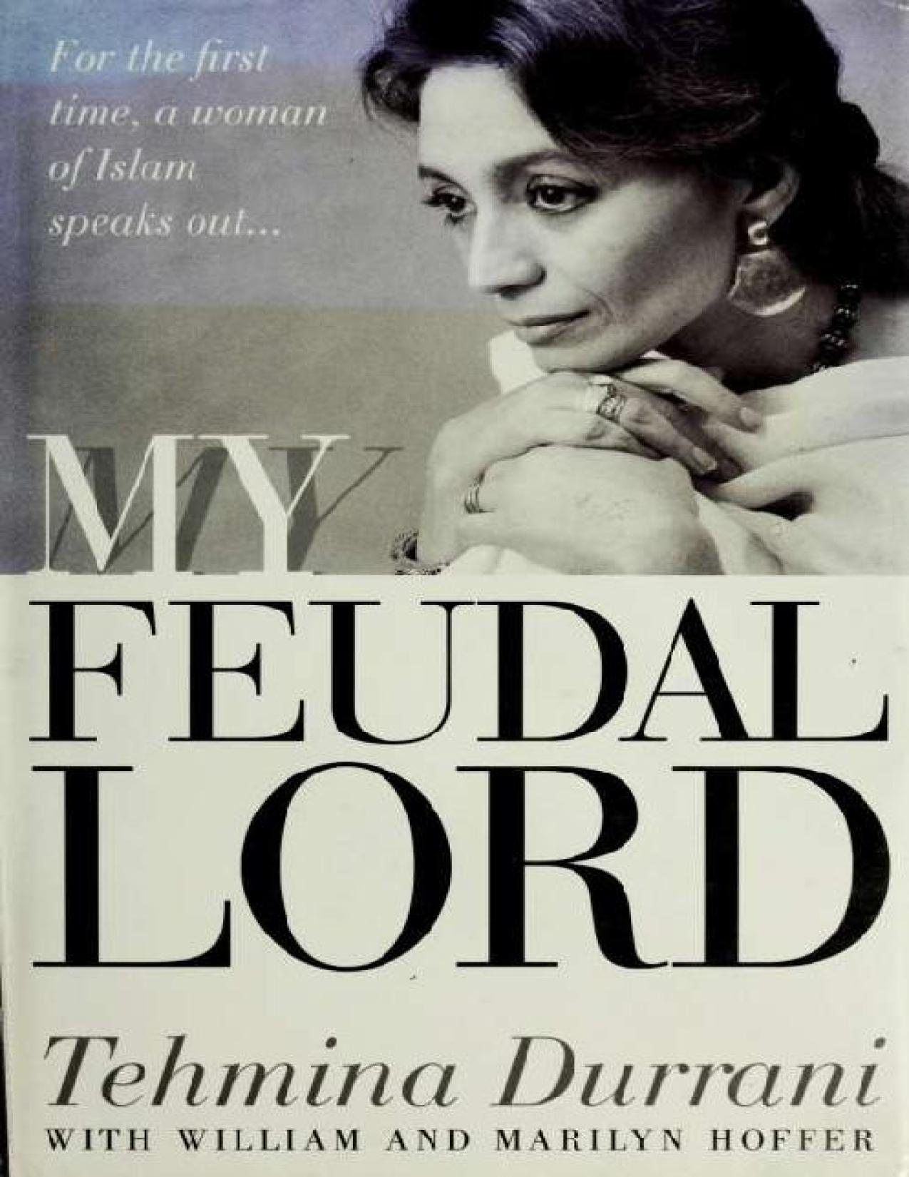 Book cover My Feudal Lord