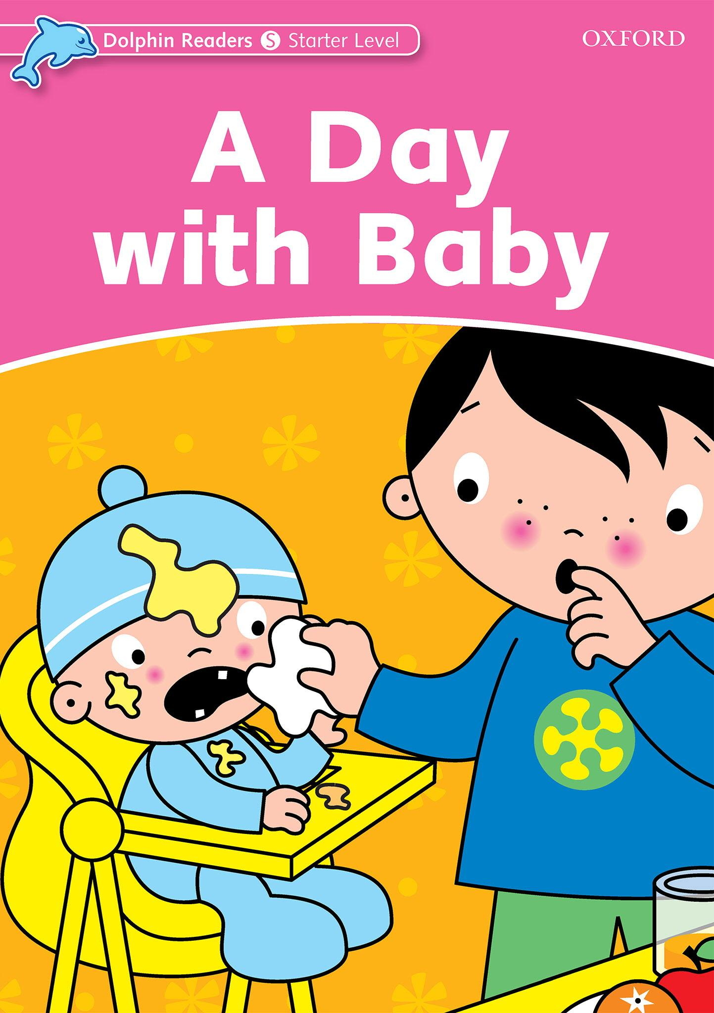 غلاف الكتاب Dolphin Readers - Starter Level - A Day With Baby