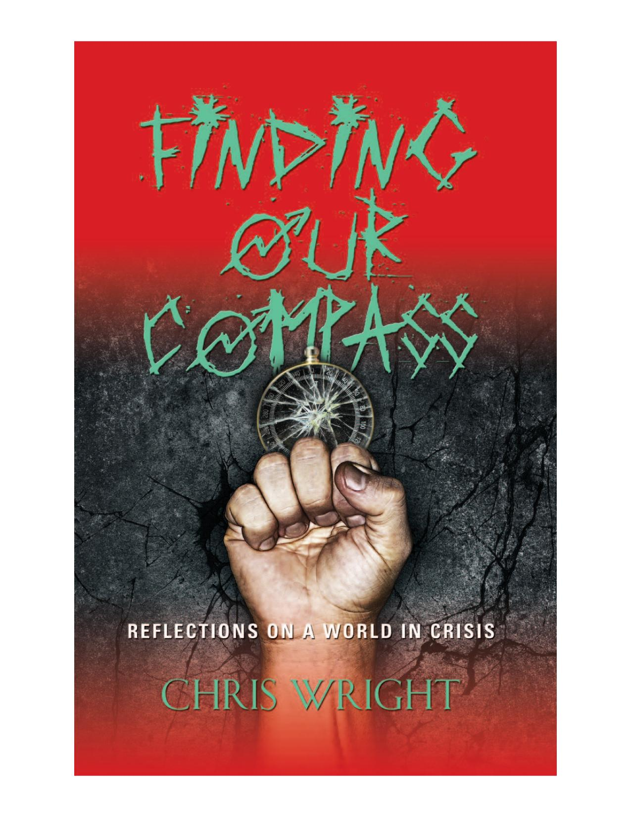 Book cover Finding Our Compass: Reflections on a World in Crisis